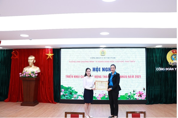 Công đoàn Y tế Việt Nam tổ chức Hội nghị triển khai Kế hoạch hoạt động Tháng công nhân 2021