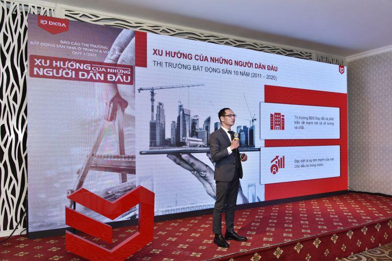 Theo ông Nguyễn Hoàng - Giám đốc R&D DKRA Vietnam, những chủ đầu tư trong nước đã tạo ra nhiều thay đổi cũng như các xu hướng mới, dẫn dắt sự phát triển của thị trường trong thời gian qua
