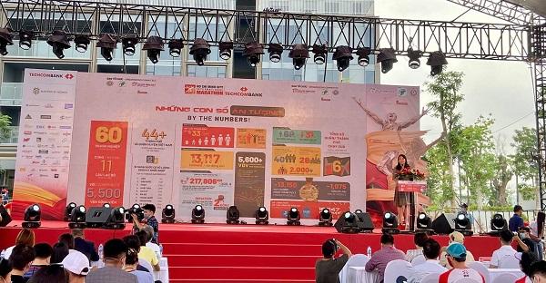 Bà Nguyễn Thị Ánh Hoa, Giám đốc Sở du lịch TPHCM phát biểu tại buổi lễ. Ảnh: Thùy Linh
