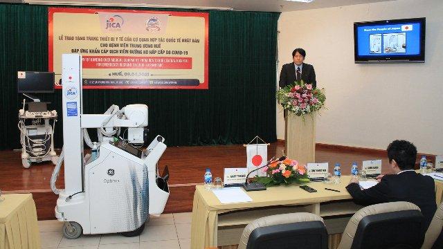Phát biểu của đại diện phía Nhật Bản tại Lễ bàn giao