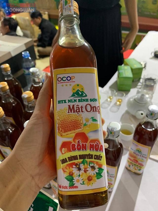 Sản phẩm Mật ong Bình Sơn được xếp hạng 3 sao