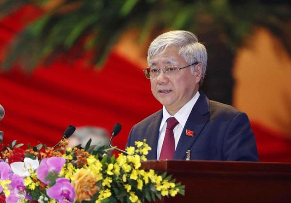 Ông Đỗ Văn Chiến, Bí thư Trung ương Đảng làm Chủ tịch Ủy ban Trung ương MTTQ Việt Nam (Ảnh TTXVN)