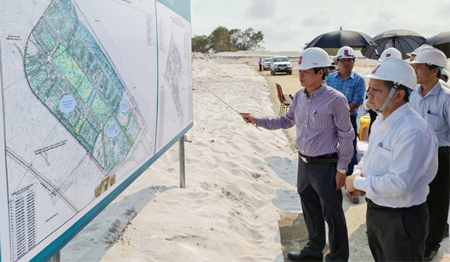 Kiểm tra một dự án ở huyện Phú Vang