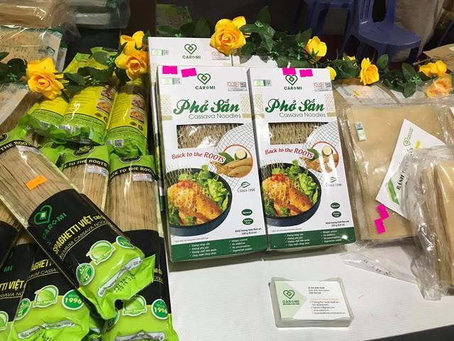 Sản phẩm OCOP Phở sắn Caromi của Công ty TNHH Caromi (Đông Phú) được thị trường đón nhận.
