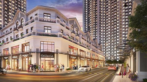 Gateway Tower toạ lạc tại tâm điểm phồn hoa Sapphire 2 - phân khu sở hữu shop downtown thời thượng và shop khối đế sầm uất phục vụ mọi nhu cầu mua sắm-ẩm thực-giải trí của khách thuê