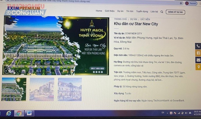 Dự án Star New City