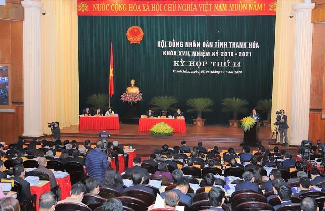 Hội đồng nhân dân (HĐND) tỉnh Thanh Hoá khoá XVII tổ chức khai mạc kỳ họp thứ 14, nhiệm kỳ 2016-2021