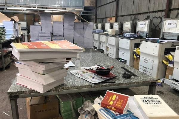 Cơ sở gia công in sách lậu