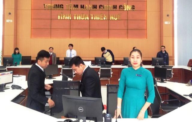 Trung tâm Hành chính công của tỉnh được người dân đánh giá cao