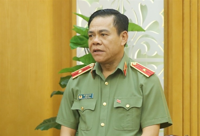 Thiếu Tướng Võ Trọng Hải, Giám đốc Công an tỉnh Nghệ An được điều động chỉ định làm Phó Bí thư Tỉnh ủy Hà Tĩnh