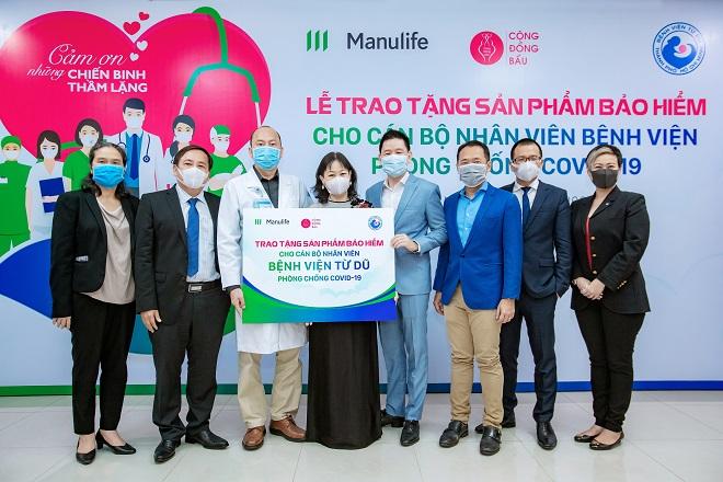 Manulife Việt Nam: Tri ân đội ngũ bác sĩ tại các bệnh viện phụ sản