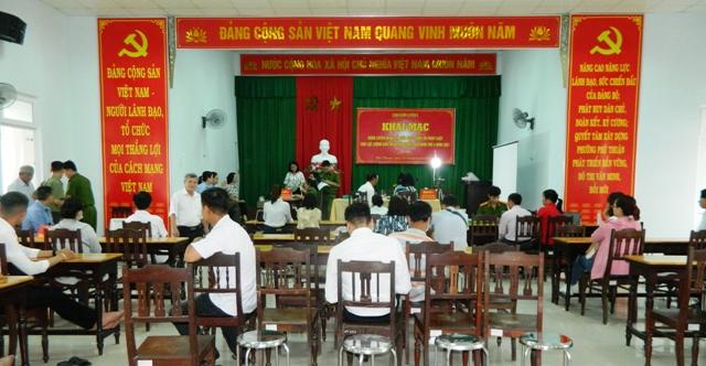 Điểm làm CCCD phường Phú Thuận- Huế