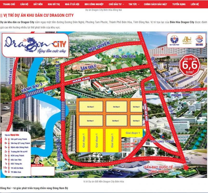 Hình ảnh quảng báo dự án