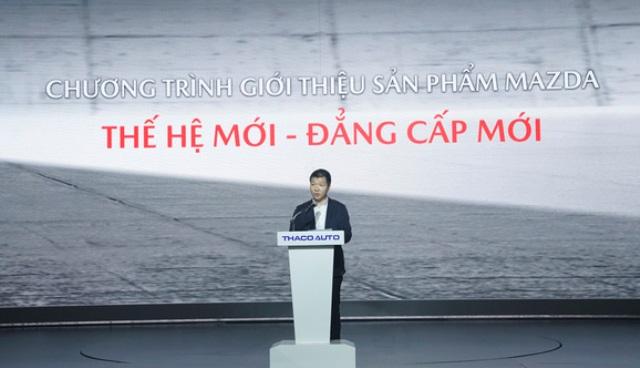 Ông Đàm Đình Thông - Phó Tổng Gíam Đốc Thaco Auto Mazda CX-30 vừa ra mắt tại thị trường Việt Nam