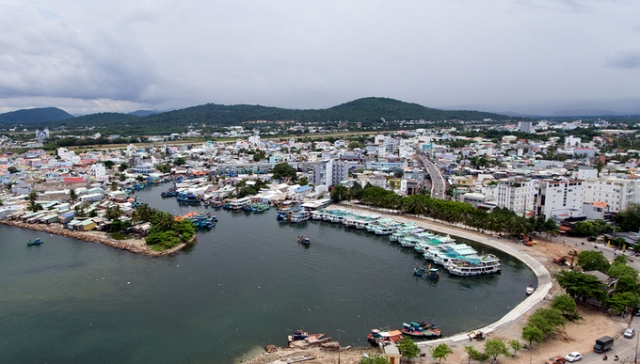 Một góc thị trấn Dương Đông (Phú Quốc)