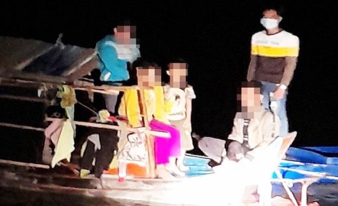 An Giang: Ngăn chặn 12 người nhập cảnh trái phép từ Campuchia vào Việt Nam