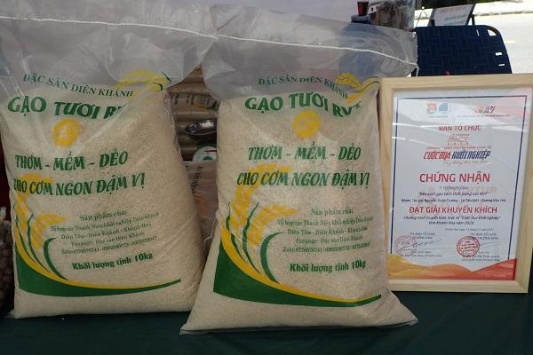 Sản phẩm gạo Diên Khánh- Khánh Hòa