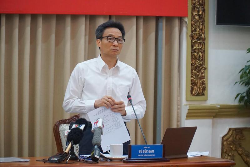 Phó Thủ tướng Vũ Đức Đam đề nghị TP.HCM xử nghiêm người không đeo khẩu trang nơi công cộng