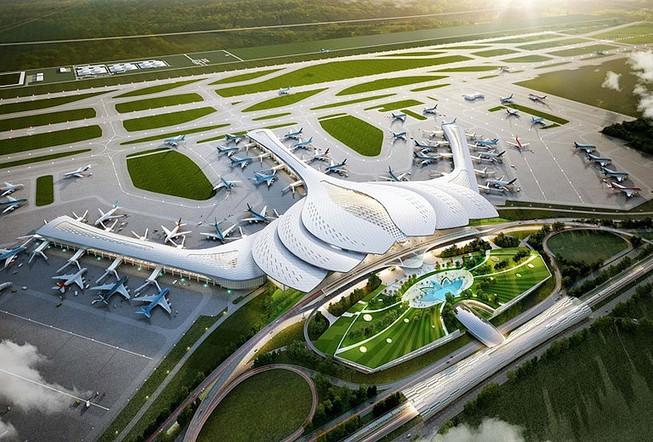 Phối cảnh sân bay Long Thành. (Nguồn: Internet).