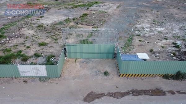Dự án The 9 Stellars chỉ là bãi đất trống, Sơn Kim Land đã cho khách hàng đặt cọc giữ chỗ và dự kiến mở bán vào tháng 5/2021