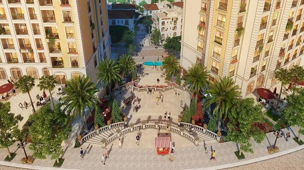 Với hệ thống tiện ích đầy đủ, thị trấn Địa Trung Hải, đặc biệt là shophouse The Center sẽ thu hút đông đảo du khách