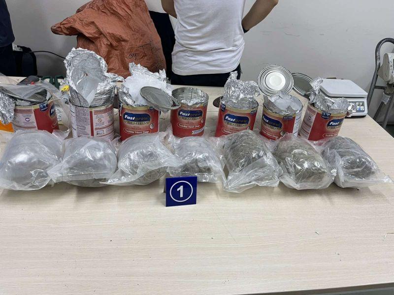 Các gói quà biếu chứa ma túy được gửi về từ Mỹ, Canada và Đức