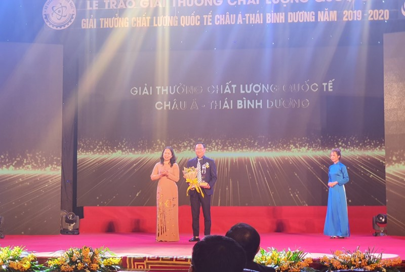 Tổng công ty Viglacera – CTCP là doanh nghiệp Việt Nam duy nhất đạt Giải thưởng World Class cho loại hình sản xuất lớn