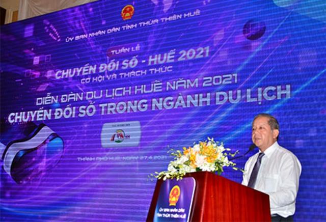 Ông Phan Ngọc Thọ- Chủ tịch UBND tỉnh Thừa Thiên Huế