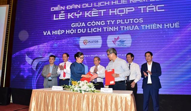 Ký kết hợp tác giữa Tập đoàn Thiên Minh với Hiệp hội Du lịch TT Huế