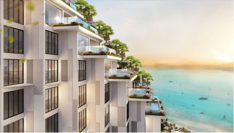 """Thiết kế """"giật cấp"""" cho 100% căn hộ hướng biển"""