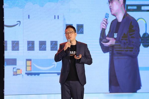 Ông Gijae Seong, Giám đốc Quốc gia của Amazon Global Selling Việt Nam chia sẻ tại sự kiện