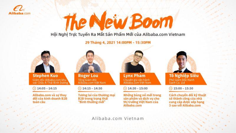 """sáng kiến The New Boom – """"Sự bùng nổ mới"""" - bao gồm các sản phẩm và dịch vụ để hỗ trợ doanh nghiệp nhỏ và vừa (DNNVV) Việt Nam đẩy nhanh quá trình số hóa."""
