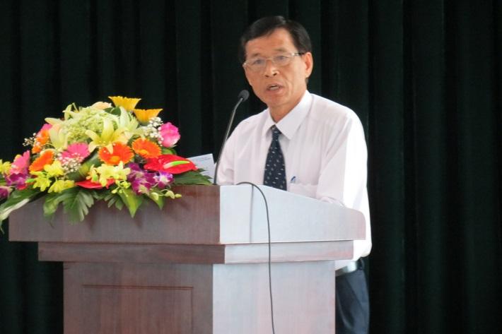 Ông Nguyễn Nghiêm Lĩnh - Phó Ban Tổ chức – Nhân sự EVN , Ủy viên BCH Công đoàn ĐLVN, phát biểu chỉ đạo