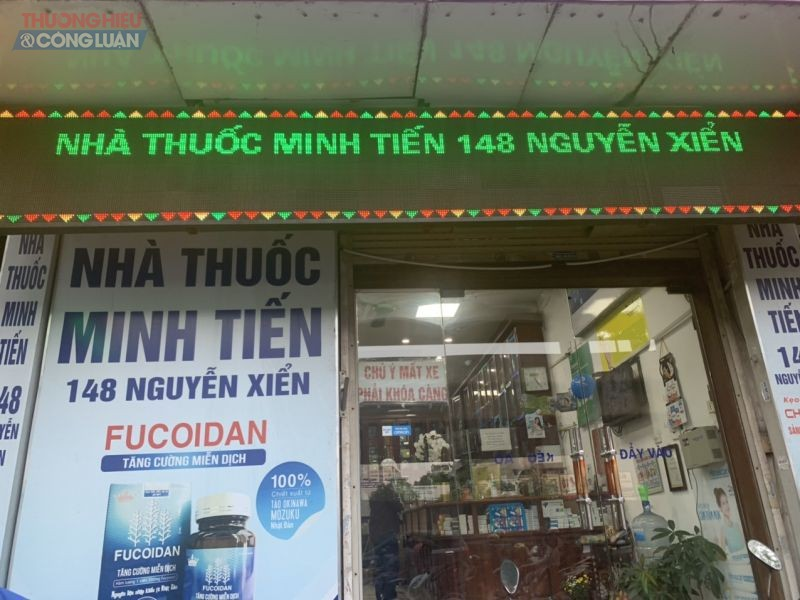Nhà thuốc Minh Tiến bán thuốc cao gần gấp 3 lần giá nhà phân phối (từ 90.000 đồng/hộp lên 275.000 đồng/hộp