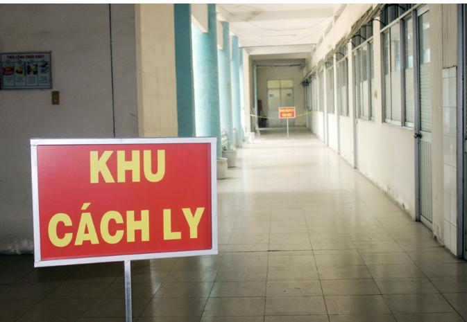 Khu cách ly bệnh viện Phổi Đồng Nai