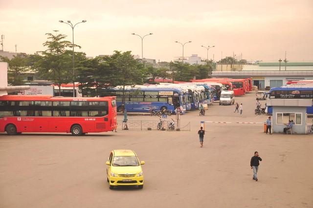 Bến xe trung tâm TP.Đà Nẵng.