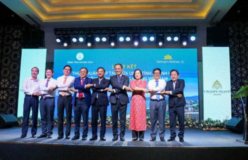 Hình ảnh tư liệu: Hội nghị UBND tỉnh Khánh Hòa gặp mặt doanh nghiệp du lịch đầu năm 2021