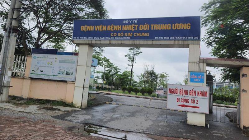 Bệnh viện Bệnh nhiệt đới T.Ư cơ sở 2 đã bị phong tỏa