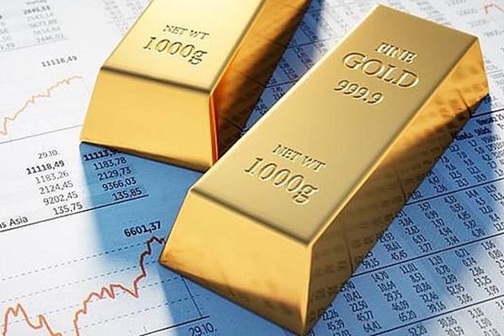 Vàng trên thị trường thế giới quay đầu giảm mạnh