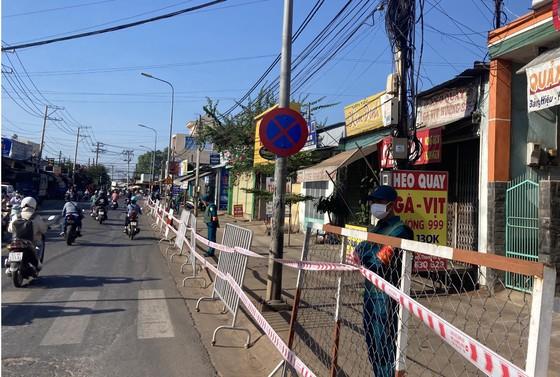 Một đoạn đường tại TP. Long Khánh bị phong tỏa