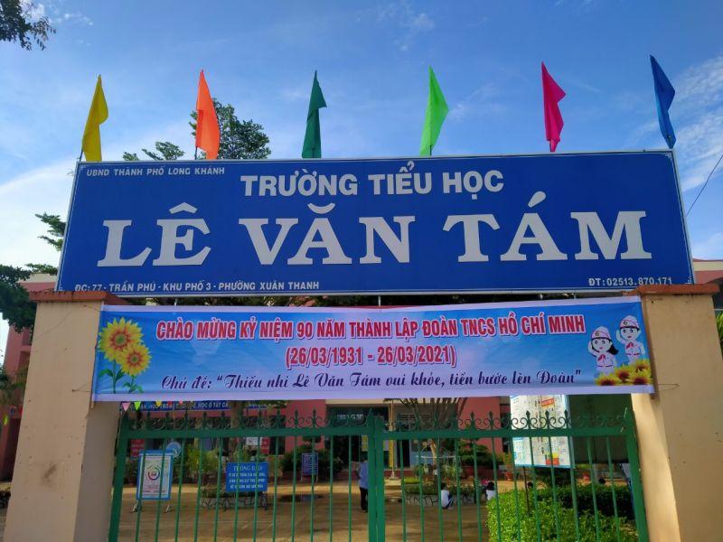 Trường Tiểu học Lê Văn Tám (TP Long Khánh)
