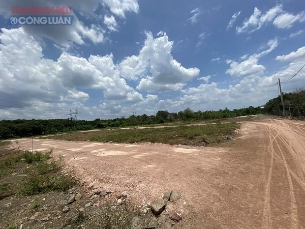Các lô đất mà Công ty TNHH Bất động sản Ngô Gia Group đang quảng cáo, rao bán.