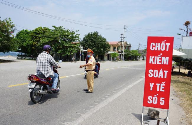 Các trạm kiểm soát dịch Covid-19 ở Thừa Thiên Huế trong đợt dịch trước đây hoạt động rất hiệu quả