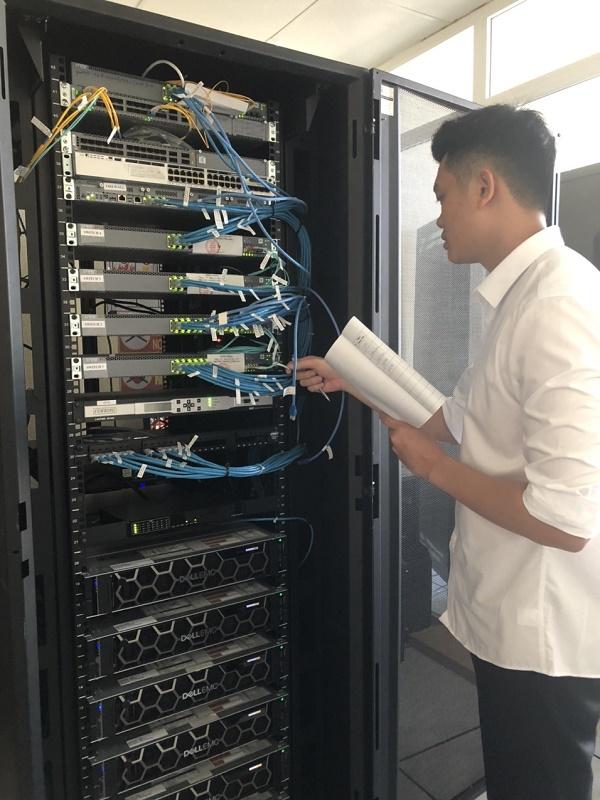Kiểm tra hệ thống SCADA Trung tâm đảm bảo toàn bộ hệ thống giám sát thu thập điều khiển các TBA 110kV điều khiển xa hoạt động ổn định, tin cậy, bảo mật