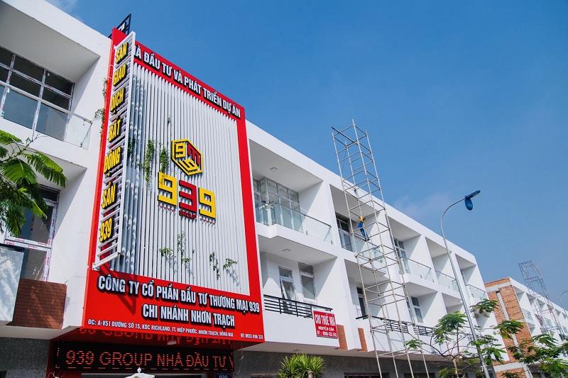 Chi nhánh Công ty CP Đầu tư Thương mại 939 tại Nhơn Trạch