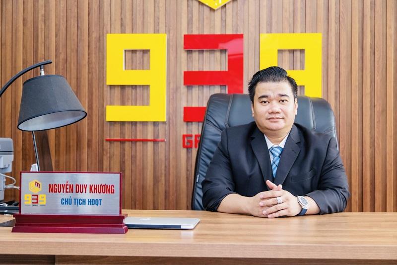 CEO Nguyễn Duy Khương - Chủ tịch HĐQT Công ty CP Đầu tư Thương mại 939