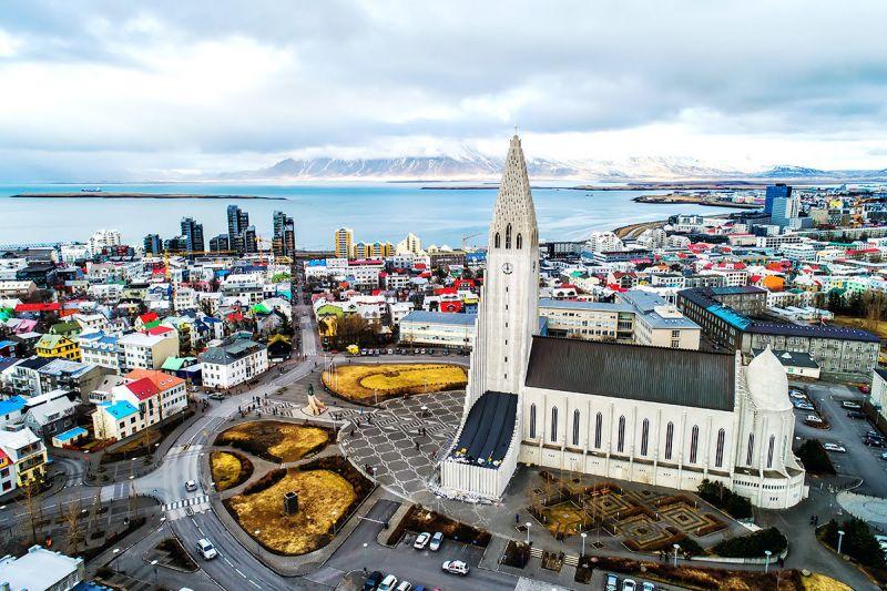 2. Thủ đô Reykjavik lưu giữ các kiến trúc đẹp nhất Iceland