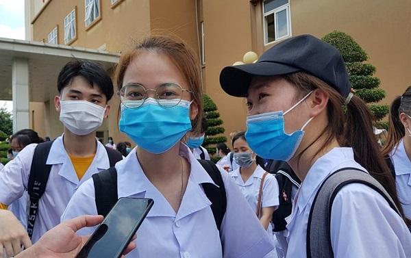 Nhiều sinh viên đã tình nguyện lên đường chi viện giúp tỉnh Bắc Giang, Bắc Ninh chống dịch Covid-19