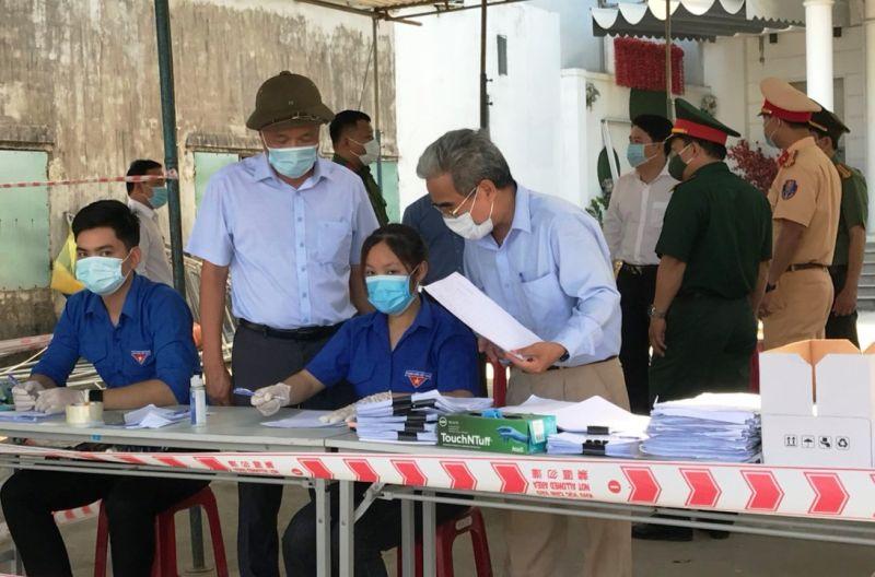 Liên quan đến ca dương tính Covid-19 nêu trong tin, Quảng Nam xác định 46 trường hợp là F1