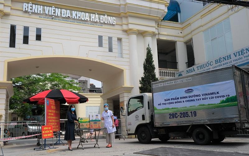 Vinamilk đã chuyển các sản phẩm đến các bệnh viện, điểm cách ly cần hỗ trợ trên địa bàn TP. Hà Nội ngay trong ngày